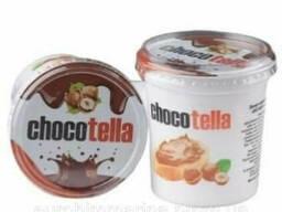 Шоколадный КРЕМ Chocotella Ароматом Сливок, 400 Г