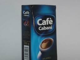 Шоколадный молотый кофе Cabani Arabica - заказывайте!