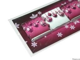 Шоколадный подарок открытка на 5 шоколадок