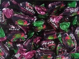Шоколадные конфеты черная смородина, прайс на конфеты в ассортименте от производителя