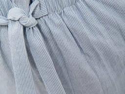 Шорты женские 115R364-2 цвет Серо-голубой