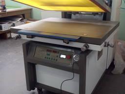 Шовкотрафаретний напівавтомат з тунельною УФ сушкою