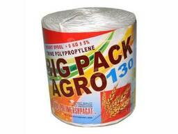 Шпагат сеновязальный 130 м/кг (нитка) 1170 м / Вес 9 кг /. ..