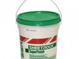 Шпаклевка финишная Sheetrock SuperFinish 3 л.