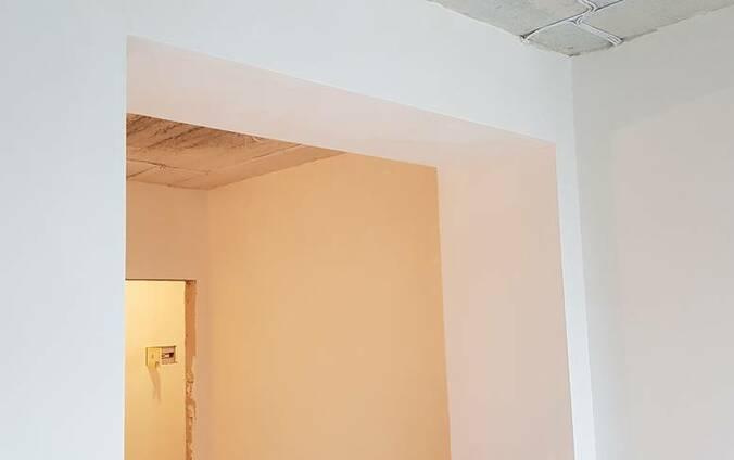 Шпаклевка стен, потолков под обои и покраску. Цены.