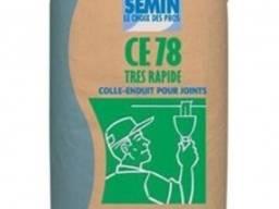Шпаклёвка для заделки швов ГКЛ Semin CE 78: 25 кг