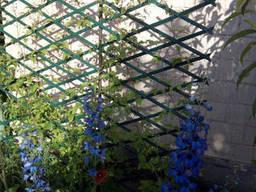 Шпалера садовая пластиковая декоративная решетка пергола. ..