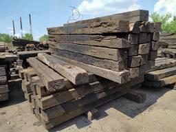Шпалы деревянные бу пропитанные креозотом