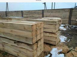 Шпалы деревянные не пропитанные, поддоны деревянные.
