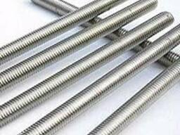 Шпильки нержавеющие М 3 х 1000 DIN 975