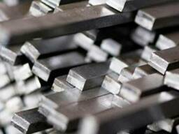Шпоночная сталь шпоночный материал Шпонка ст.45 6х6 мм калиб