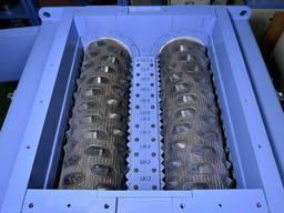 Шредеры промышленные двухвальные