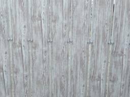Штакетник металлический 130мм 3d ясень (белое дерево)
