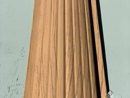 Паркан посилений, Евроштакетнік з профнастилу, металевий під дерево сосна