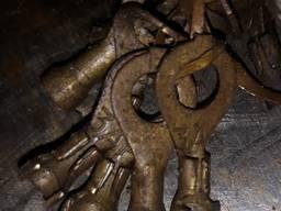 Штамп для изготовления наконечник провода кольцевой латунный