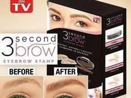 Штамп-пудра для бровей 3 Second Brown Eyebrow Stamp