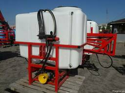 Навесной опрыскиватель ОНШ 600 л для внесения пестицидов шта