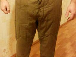 Штаны ватные армейские размер 46-58 рост 2-6.