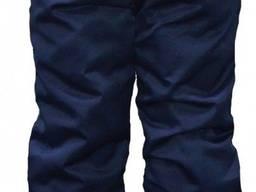 Штаны ватные Механик темно-синие
