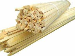 Штапик деревяный 1 м (100шт) (шт. ), код 8-010
