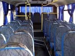 Шторы и чехлы для автобуса