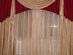 Шторы, ламбрекены, покрывала - дизайн и пошив