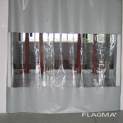 Шторы ПВХ, промышленные шторы, завесы стены перегородки ПВХ