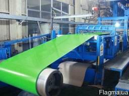 Штрипс Окрашен 9003 цвет для ПРомышленного оборудования