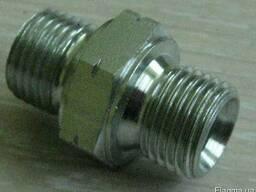 Штуцера соединенительные для покрасочного шланга ВД.