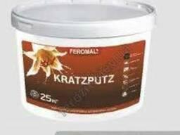 Штукатурка акриловая Feromal Kratzputz Шуба База С/ 25кг