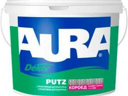 Штукатурка короед Aura Dekor Putz 1. 5 мм 25 кг