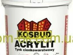 Акриловая штукатурка машинного нанесения Акрилит/Acrylit. ..