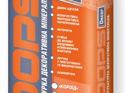 """DOPS Decor - минеральная декоративная штукатурка """"короед"""""""