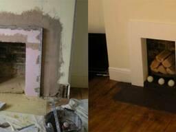 Шпаклевка стен и перегородок в доме