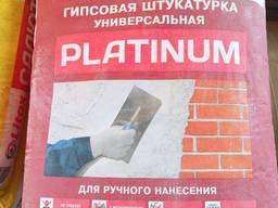 """Штукатурка универсальная гипсовая Литокс """"Platinum"""" 30 кг"""