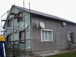 Штукатурка, утепление фасадов.