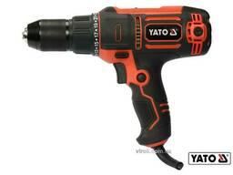 Шуруповерт-дриль мережевий YATO 300 Вт 40 Нм 1450 об/хв патрон Ø≤13 мм