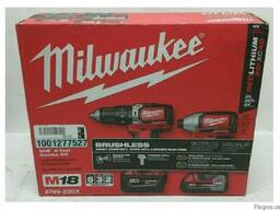 Шуруповерты (набор) Milwaukee M18 2799-22.