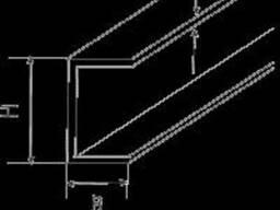 Алюминиевый швеллер 171х17, 5