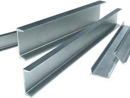 Алюминиевый швеллер 40х40х2, 0 АД31 Т5 цена купить ГОСТ