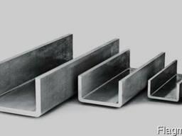 Швеллер алюминиевый 55х23х2, 5 АД31Т5 анод доставка