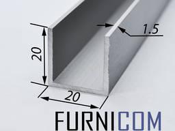 Швеллер алюминиевый от 8 до 100мм