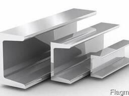 Алюминиевый швеллер АД31АН15