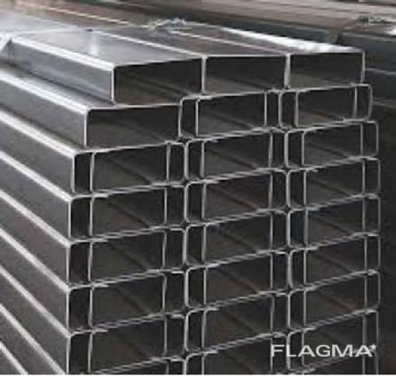 Швеллер гнутый стальной 110х50х3,0 мм