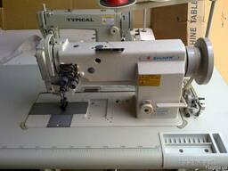 Швейная машина Typikal Типикал GC20606-2. Двухигольная.