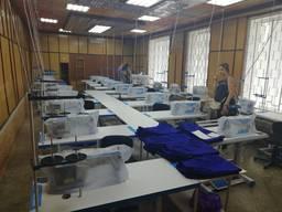 Швейное производство предоставляет услугу пошива