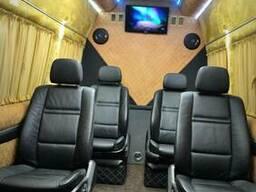 Сиденья диваны в микроавтобус бус, поворотные сиденья сидушк