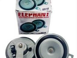 Сигнал дисковый Elephant 12V 110mm СА-10110