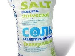 Сіль таблетована Белоруссия. Соль таблетированная