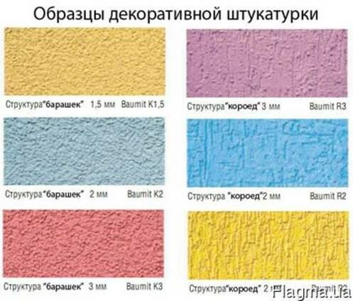 Силикатная штукатурка Баумит СиликатТоп Барашек Зерно 1,5мм